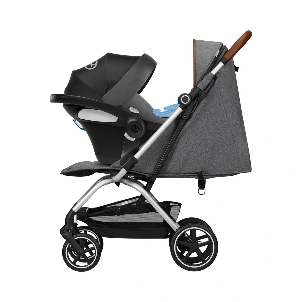 Cybex Buggy Liegeposition Cybex Gold Eezy S Denim Collection Buggy Mit Liegefunktion Manhattan Grey