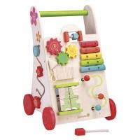 EVEREARTH Lauflernwagen Spielzeug 2-in-1 aus Holz online ...
