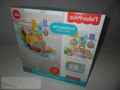 Bouncer Baby Fisher Price Animal Kingdom Baby Bouncer