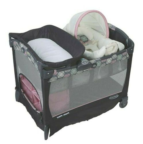 Baby Cradle Graco Graco Baby Pack N Play Playard With Cuddle Cove Addison