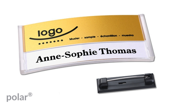 Name badge polar® 30 \