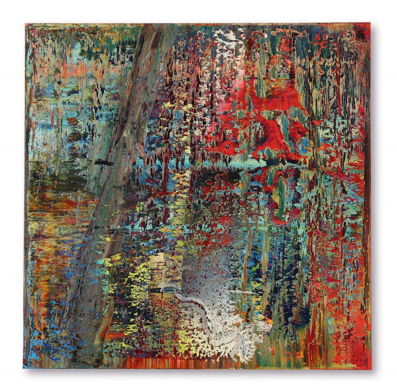Gerhard Richter S Abstraktes Bild To Lead Sotheby S October Sales In Hong Kong Barron S