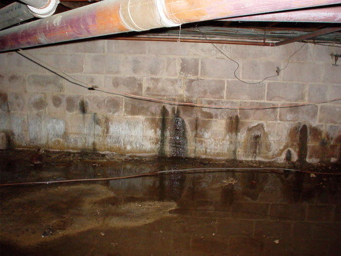 Repairing Leaking Basement Walls What Works And What