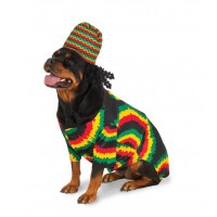 Big Dog Rasta Dog Costume