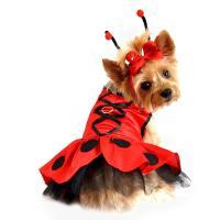 Ladybug Fairy Dog Costume Harness Dress by Do... | BaxterBoo