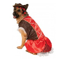 Rubies Pirate Girl Dog Costume