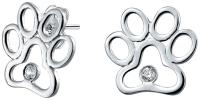 BLING Jewelry Paw Print Stud Earrings | Bealls Florida