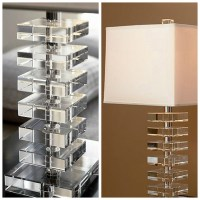 Sophisticated Table Lamp Design Combines Sparkling Crystal ...