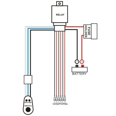Led Off Road Light Bar Wiring Diagram Wiring Diagram
