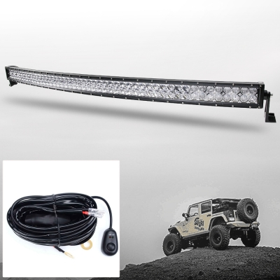 5D 52 Inch Off Road LED Light Bar CREE LED 300W 30 Degree Spot 60