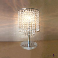 Dazzling Single Light Table Lamp with Delicate ...