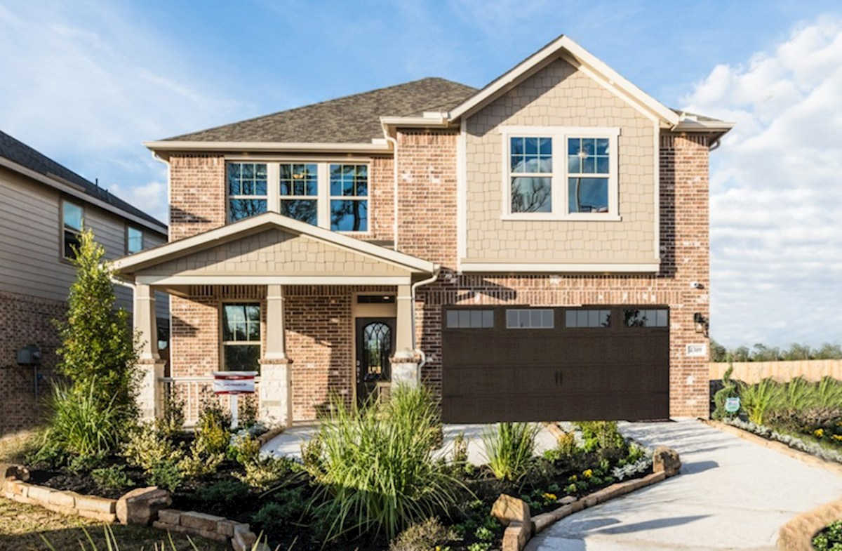 Katy Home Franklin Home Plan In King Crossing Katy Tx Beazer Homes