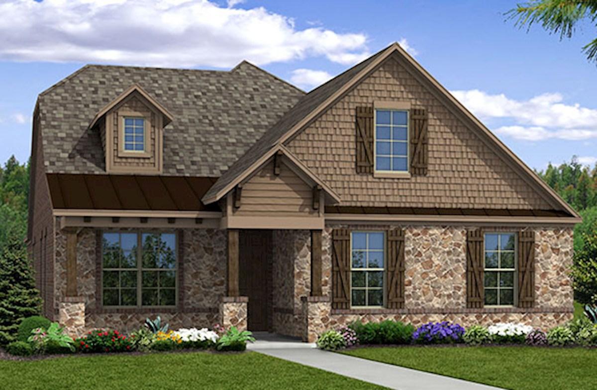 Ainsley Home Plan In Glen View Frisco Tx Beazer Homes
