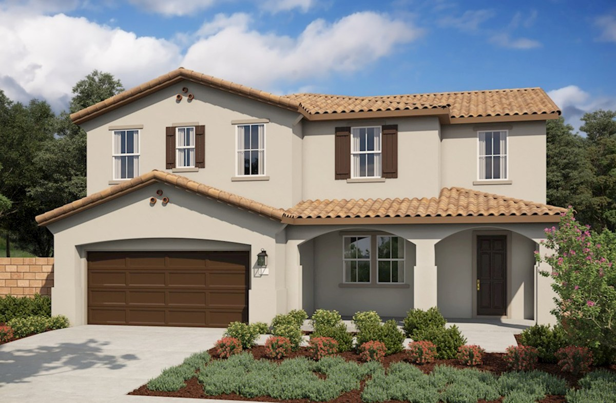 Plan Veranda Rose Home Plan In Veranda San Bernardino Ca Beazer Homes