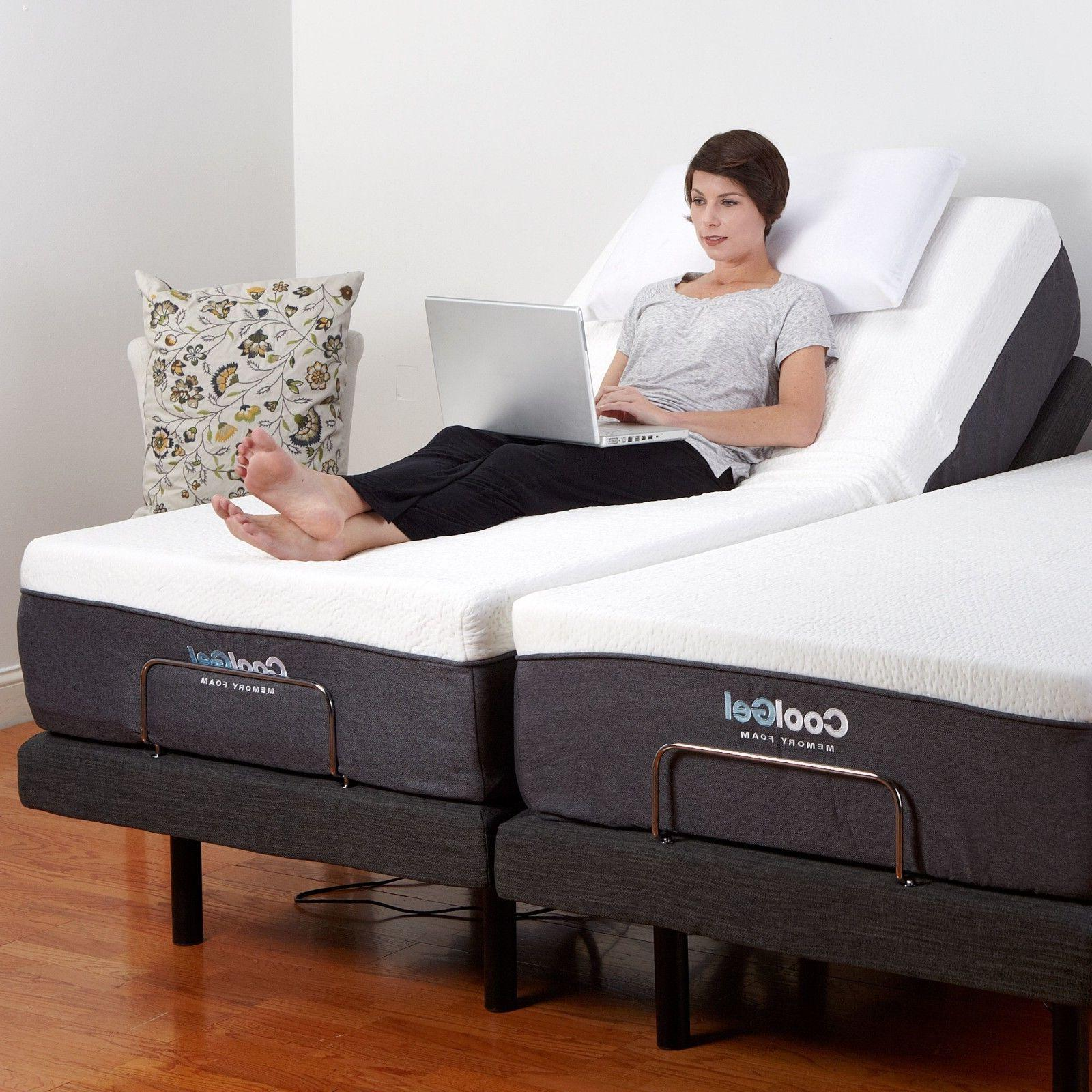 Electric Bed King Size Adjustable Split King Size Electric Bed