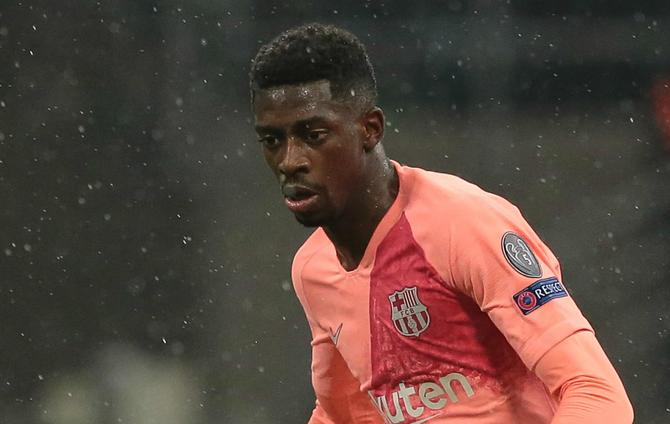 Dembele Omission Not A Punishment Insists Barca Boss Valverde
