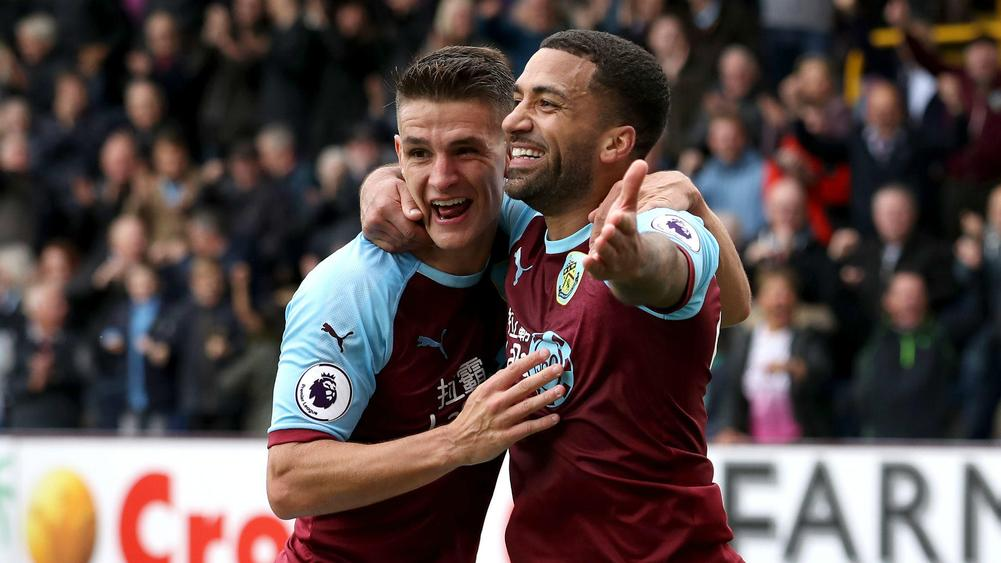 Burnley 4 Bournemouth 0 Rampant Clarets Claim First