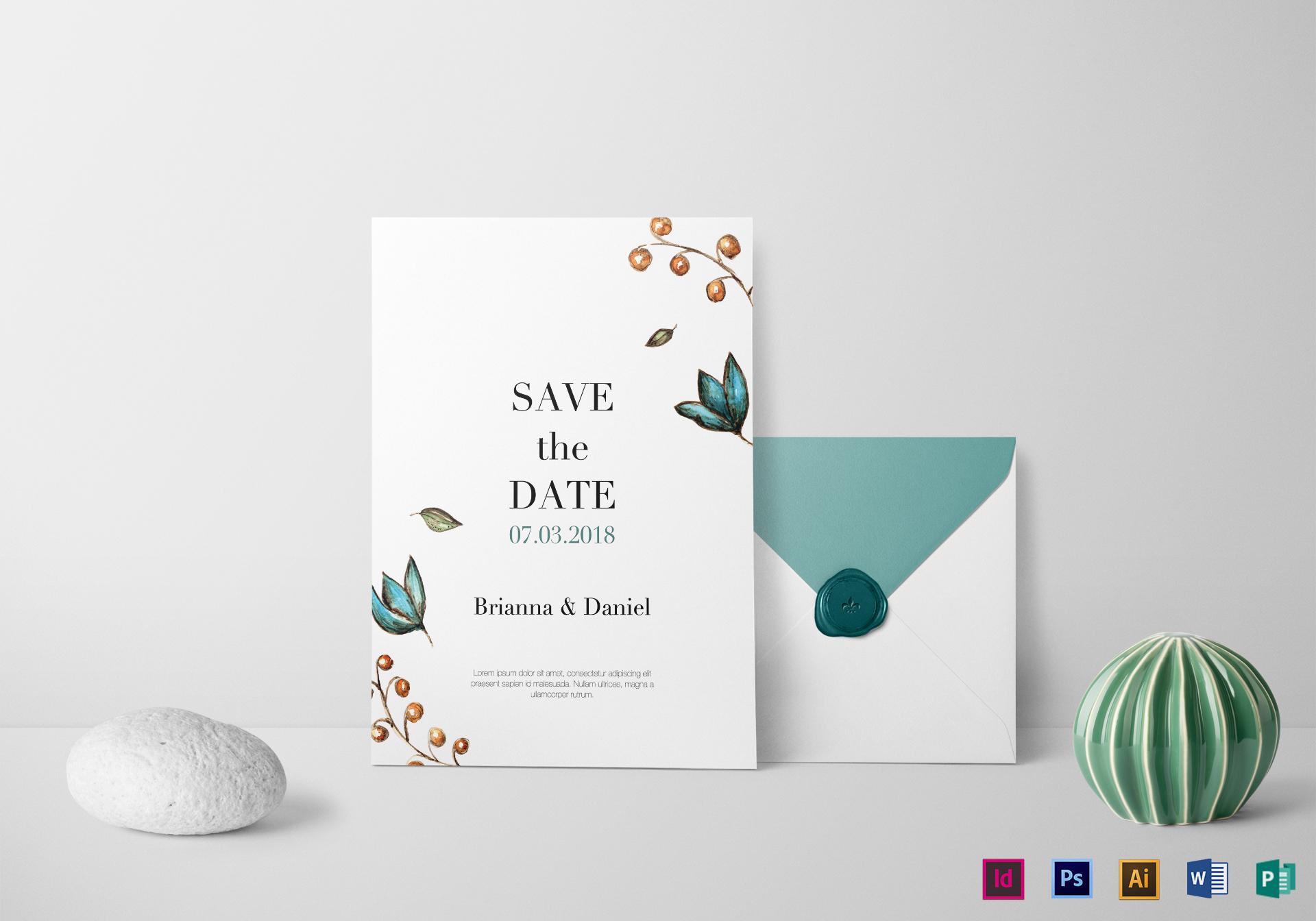 simple wedding invitation templates