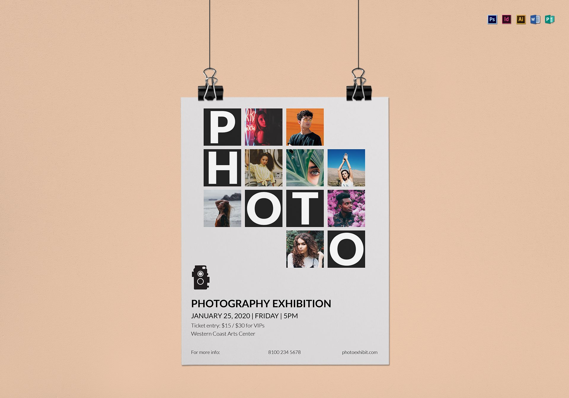 Photography Exhibition Photography Exhibition Flyer Template