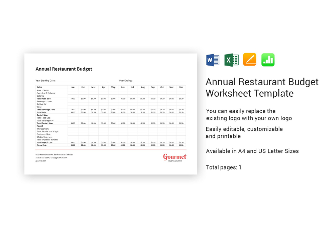 22+ Restaurant Spreadsheets  Budgeting, Sales, Inventory