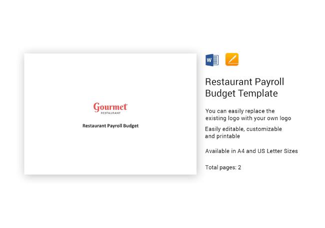 65+ Restaurant HR Templates  Hiring, Payroll, Policies