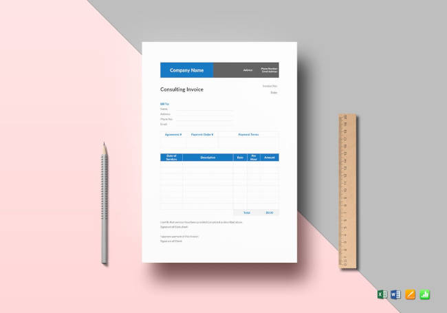 17+ Best Accounting Invoice Templates Best Templates