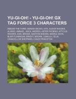 Yu Gi OH Tag Force Characters