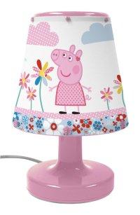 Childrens Peppa Pig Bedside Night Light Desk Lamp | eBay