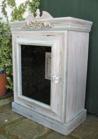 Cabinets - Vintage French style wood display / bathroom ...