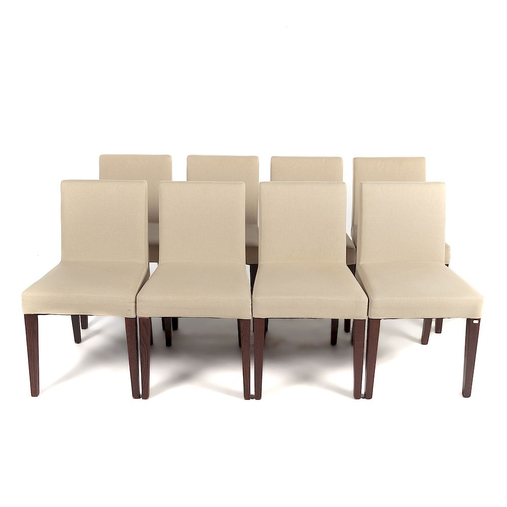 Console Ligne Roset Eight French Ligne Roset Dining Chairs By Alex Cooper Auctioneers
