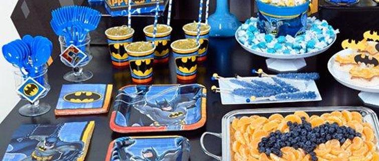 Batman Dark Knight Dessert Plates Birthdayexpresscom & Batman Tableware - Castrophotos