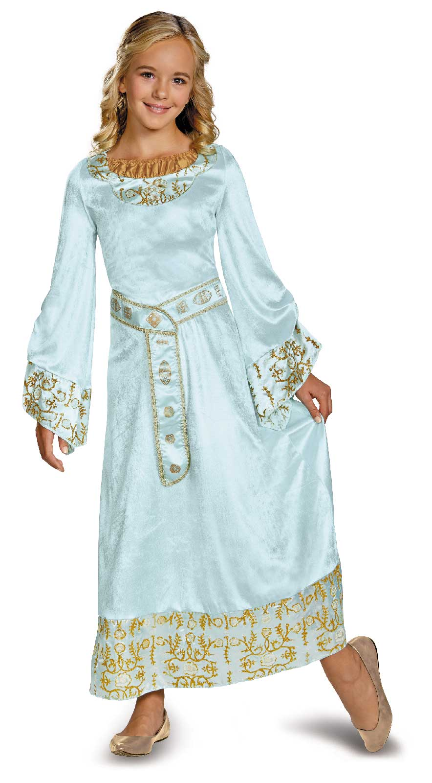 Princess Aurora Dress Up Costume - Meningrey