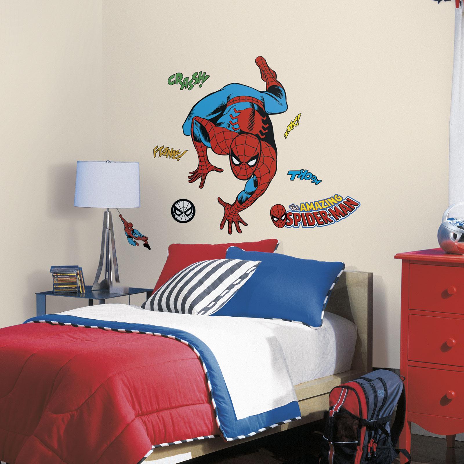 SaveEnlarge · Spiderman Wall Decals ...