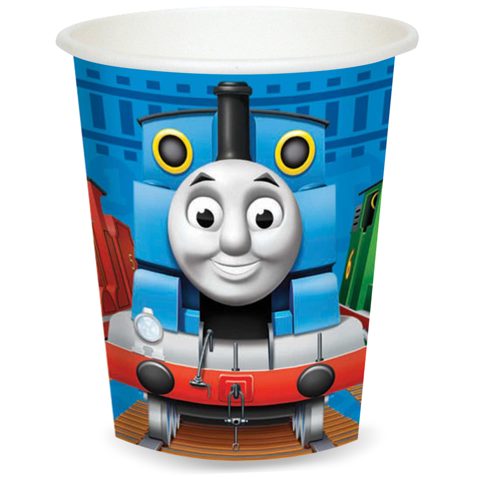 55 ...  sc 1 st  Castrophotos & Thomas The Train Paper Plates - Castrophotos