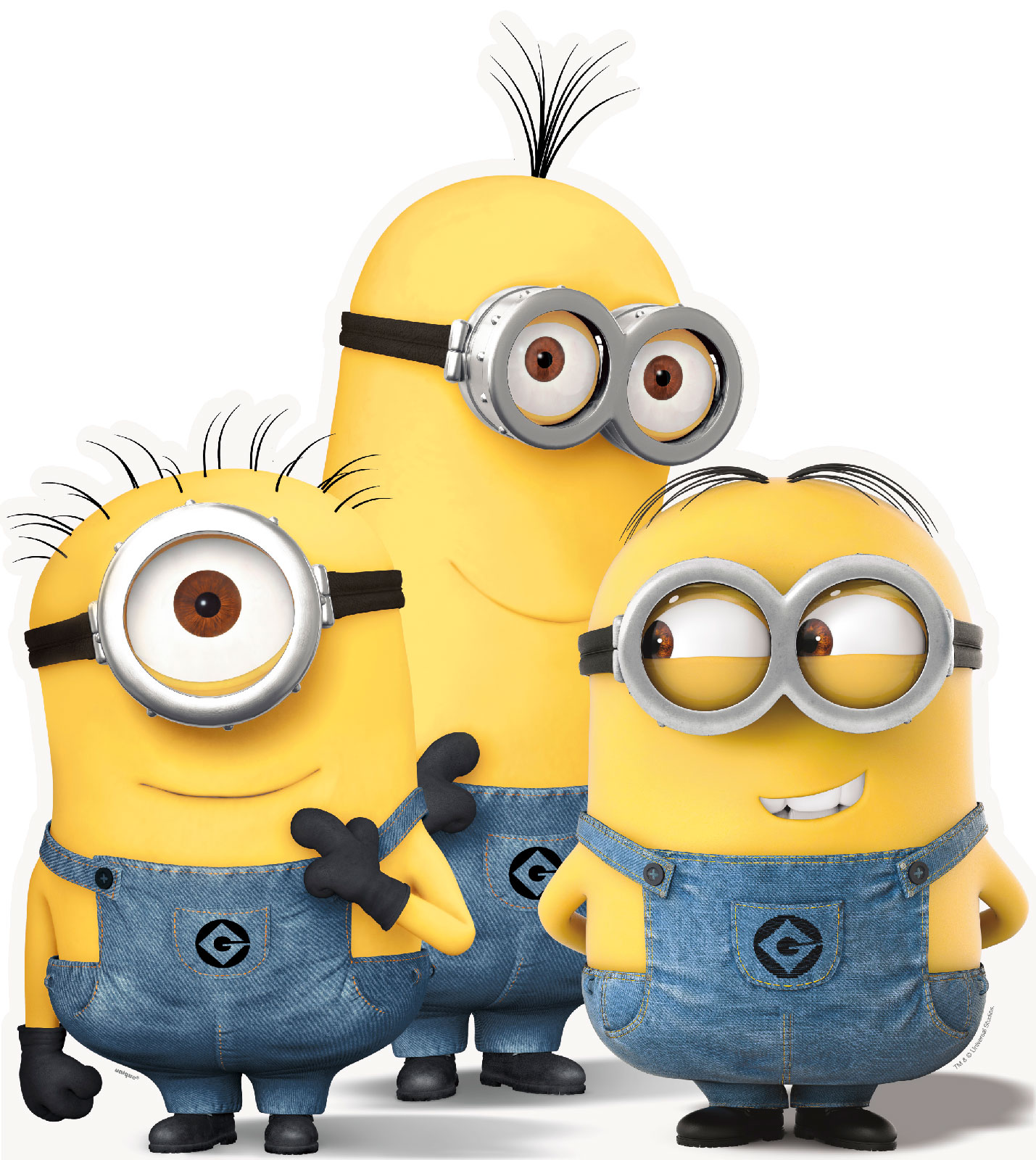 Marvel Iphone Wallpaper Minions Despicable Me Group Standup 3 Tall