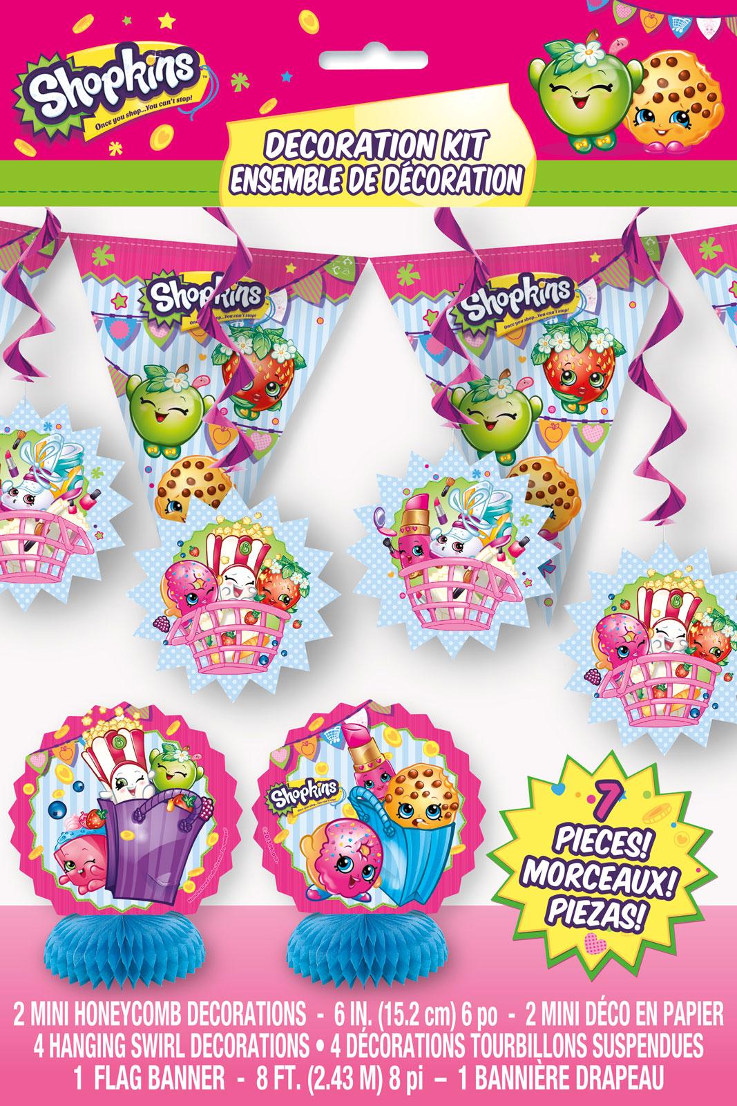 Shopkins Decorating Kit Birthdayexpress