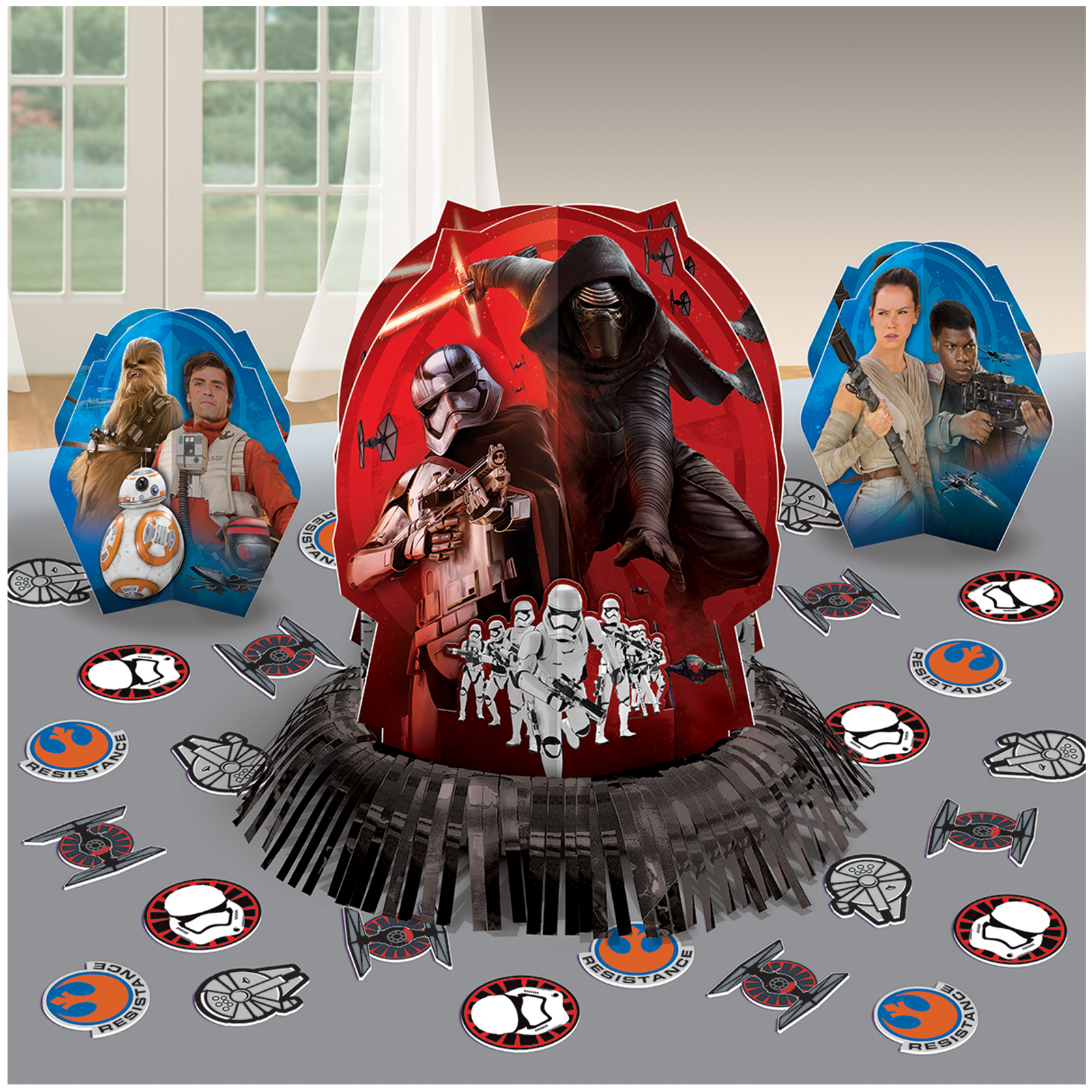 Décoration Table Thème Star Wars Star Wars 7 The Force Awakens Table Decorating Kit