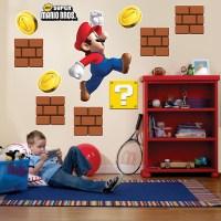 Super Mario Bros. Giant Wall Decals | BirthdayExpress.com