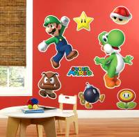 Super Mario Party Giant Wall Decals | BirthdayExpress.com