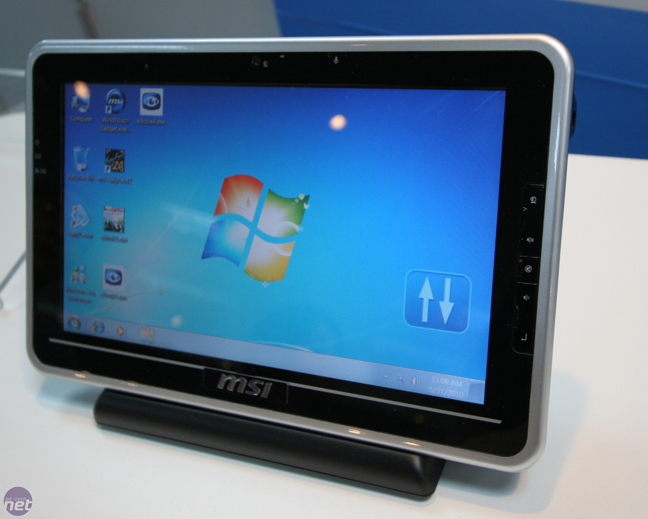 Tablet Pc Msi Windpad 100 And 110 Tablet Pc Hands On Bit Tech