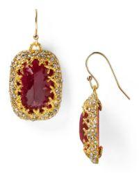 Alexis Bittar Siyabona Sunset Gold Cushion Earrings ...