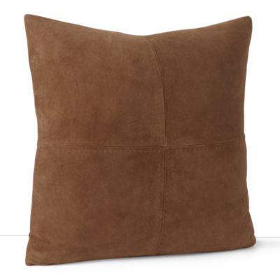 Ralph Lauren Suede Throw Pillow 18quot X 18quot Bloomingdale39s