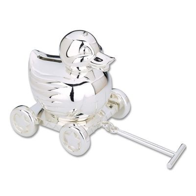 Silver Piggy Bank For Baby Reed And Barton Quotduck Quot Coin Bank Bloomingdale 39s