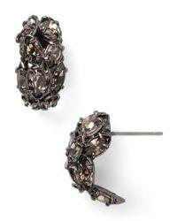 Alexis Bittar Pavo Huggie Earrings | Bloomingdale's