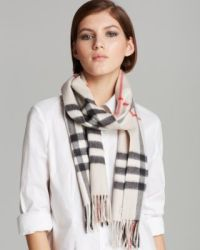 Burberry Giant Check Cashmere Scarf | Bloomingdale's