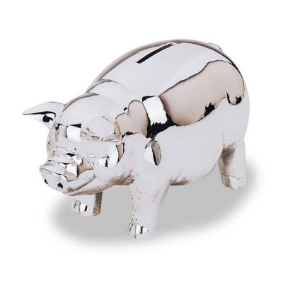 Silver Piggy Bank For Baby Reed And Barton Quotclassic Quot Piggy Bank Bloomingdale 39s
