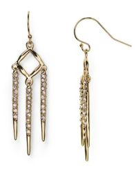 Alexis Bittar Miss Havisham Fringe Drop Earrings ...