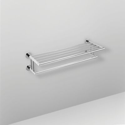 Bath Bazar Bath Bazaar Brass And Stainless Steel Towel Rack 25 4