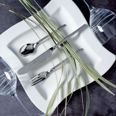 New Wave Villeroy Villeroy And Boch Quotnew Wave Quot 64 Piece Flatware Set
