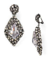 Alexis Bittar Nova Crystal Clip-On Earrings | Bloomingdale's